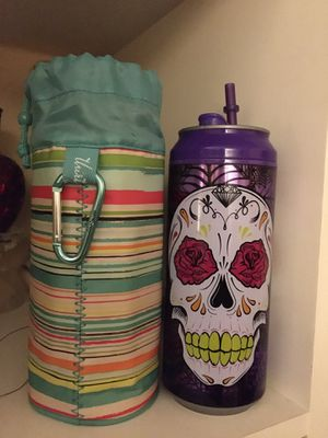 Cool Gear NEW skull Cup & insulated sleeve for Sale in Hurst, TX