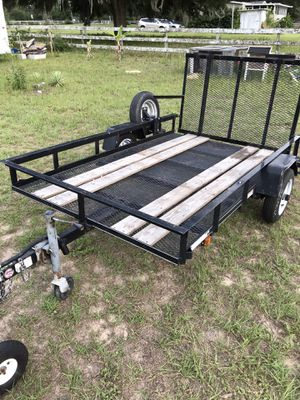 5x8 utility trailer for Sale in Dade City, FL