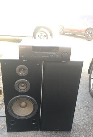 Technics speakers kenwood receiver for Sale in La Mirada, CA
