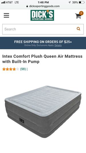 Air mattress from Dicks Sporting Goods for Sale in Portland, OR