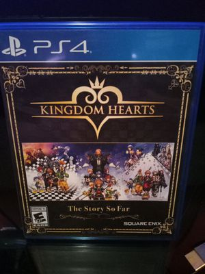 PS4 Kingdom Hearts The Story So Far and Kingdom Hearts III Bundle for Sale in Parlier, CA