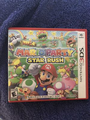 Mario Party Star Rush for Sale in Wasco, CA