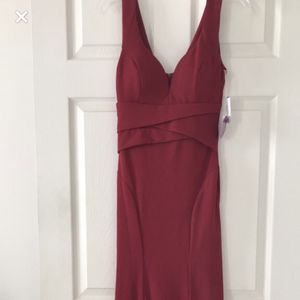 New Red Maroon Dress for Sale in Evesham Township, NJ