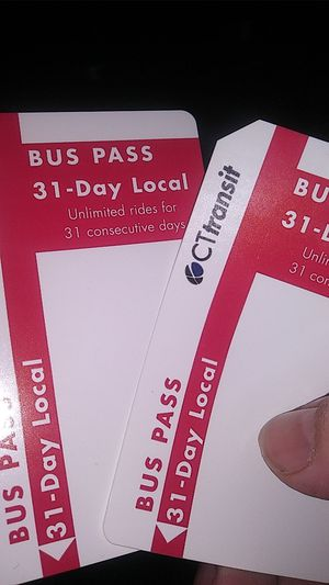 31 day bus passes for Sale in Waterbury, CT