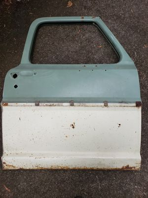 1967, 1968, 1969, 1970, 1971, 1972 F100/F250/F350 Passenger's Side Door Hell (Green/Off-White) for Sale in Puyallup, WA