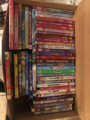 45 Children's dvd movies and cartoons DVDs for Sale in Philadelphia, PA