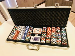 Poker-set: 500pc for Sale in Hyattsville, MD