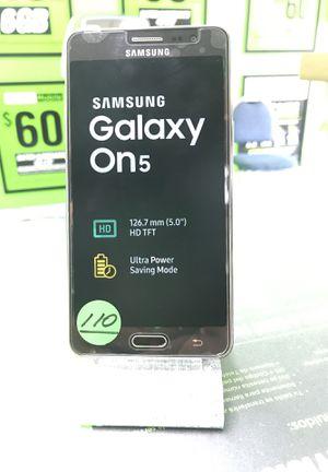 Samsung Galaxy on 5 blac unlocked for Sale in Hialeah, FL