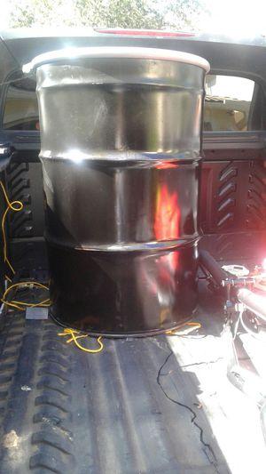 2 Metal barrel 55 gallon $35 each one for Sale in Lake Worth, FL