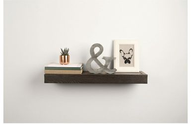 18 inch Single Flat Wooden Design Hanging Shelf for Wall Decor for Sale in Los Angeles,  CA