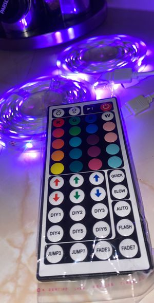 20 Colors LED Multi Color Strip Lights (32.8Ft) (Cuttable ) w. Remote for Sale in Compton, CA