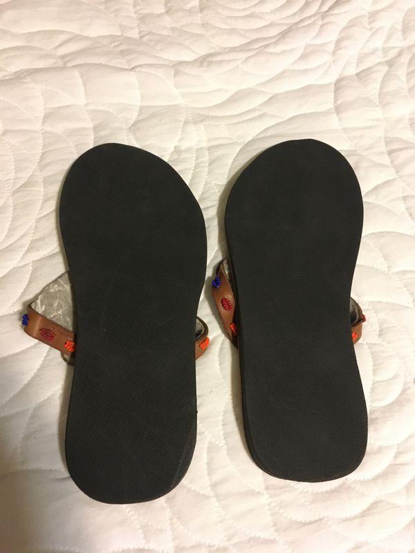 Beautiful summer Ankara sandals