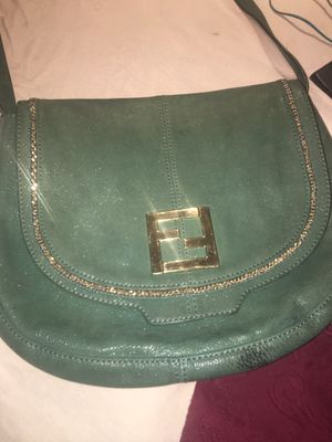 VINTAGE fendi nubuck purse! for Sale in Chicago, IL