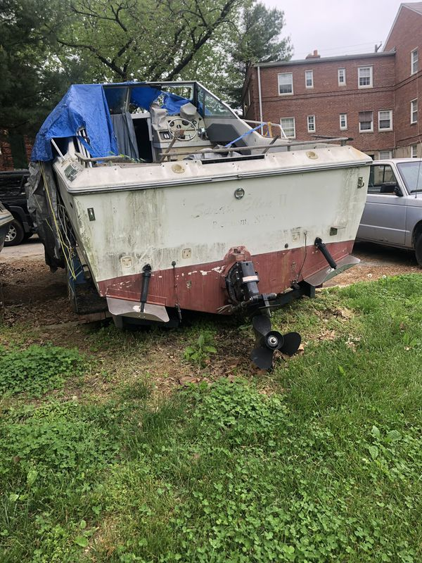 Parts boat for sale