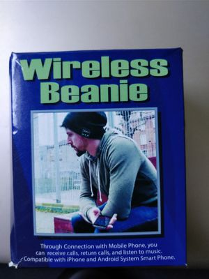 beanie wireless,headphone for Sale in Lawrence Township, NJ