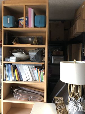 Solid Oak Bookshelves for Sale in Rancho Cucamonga, CA