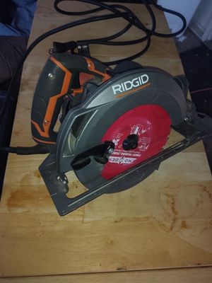 "Rigid 7-1/4"" 15 Amp Circular Saw for Sale in Vancouver, WA"