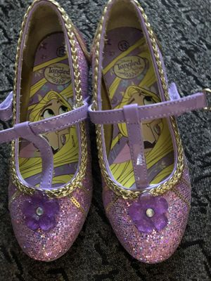 Rapunzel dress up shoes size 13 for Sale in Chicago, IL