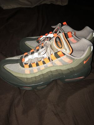 """9fd0695666b65d Air Max 95 """"Neutral Olive Total Orange Size 9 for Sale in Columbus"""