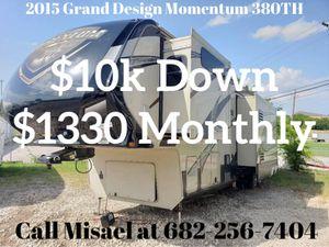 2015 Grand Design Momentum 380TH for Sale in Houston, TX