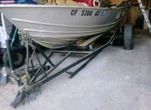 Aluminum boat 12' for Sale in Clovis, CA