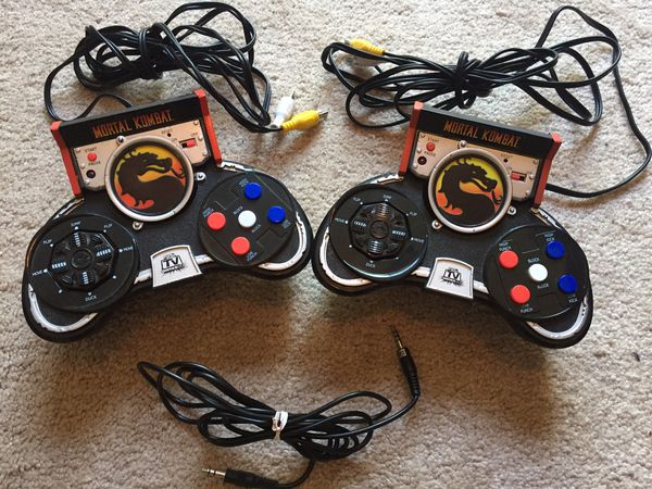 Two Mortal Kombat Plug and Play Controllers