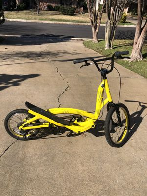Zike Elliptical Bike. New $600. Like New. Excellent Condition Firm for Sale in Fort Worth, TX