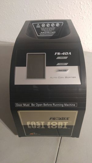 Royal Sovereign Fast Sort Auto Electric Coin Sorter for Sale in Plant City, FL