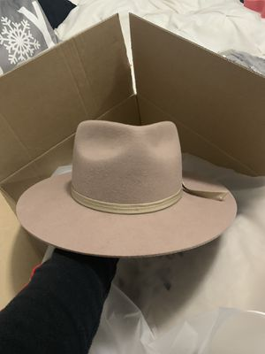Beige brim hat 'Lack of Color' for Sale in Scottsdale, AZ