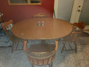 Wooden kitchen table for Sale in North Ridgeville, OH