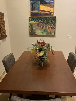 Custom made Mahogany Dining TABLE TOP ONLY for Sale in Dana Point,  CA