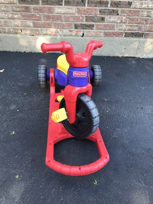 Toddler Fisher-Price Rock, Roll 'n Ride Trike for Sale in Wood Dale, IL