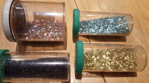 All glitter for art and craft project, be creative, making special cards and notes for Sale in Long Beach, CA