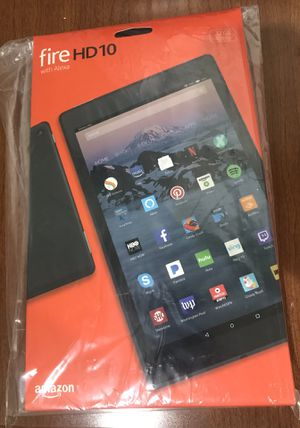 "Amazon Fire HD 10"" Tablet 32GB-New in Box for Sale in Santa Susana, CA"