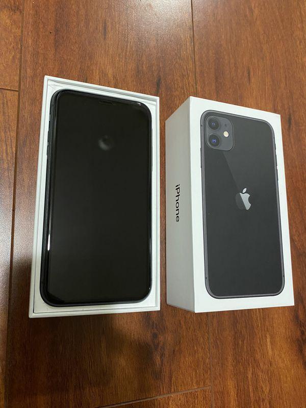 IPhone 11 64 GB Black Unlocked!