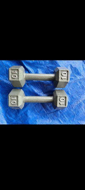 10lb Dumbells New for Sale in Garden Grove, CA