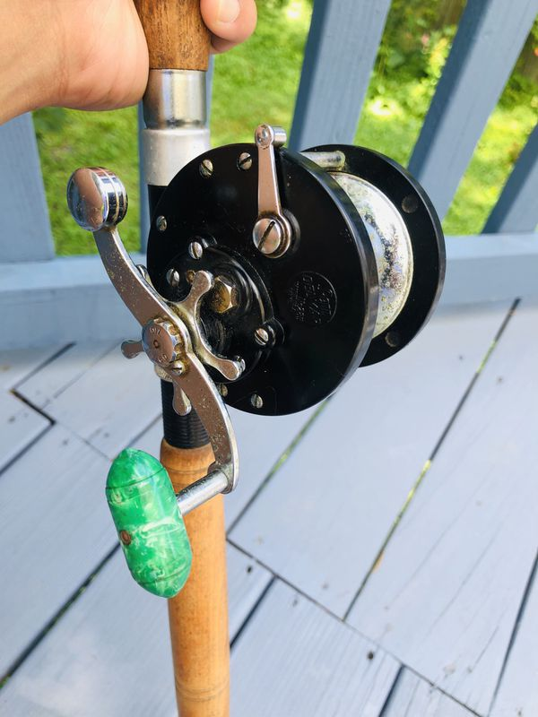 fishing reel and rod for deep sea
