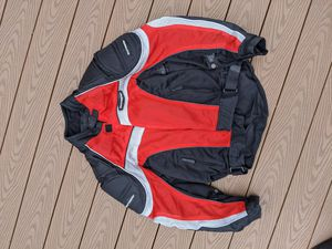 Tourmaster Intake Motorcycle Jacket Convertible Layers Armored Padded for Sale in Pembroke Pines, FL