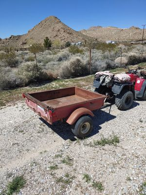 Heavy duty all steel utility trailer for ATV or car for Sale in Lucerne Valley, CA