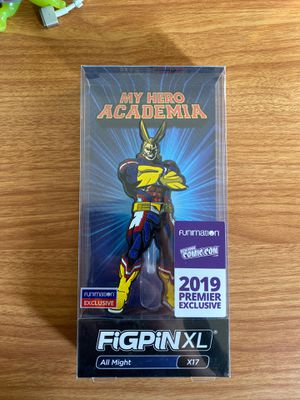 Nycc 2019 figpin all might glitter my hero academia for Sale in Colleyville, TX