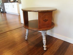 Shabby chic two tier side table for Sale in Renton, WA