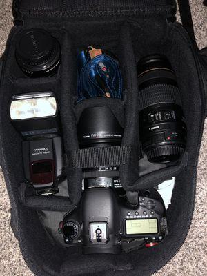 Full set canons camera 7d for Sale in Abilene, TX