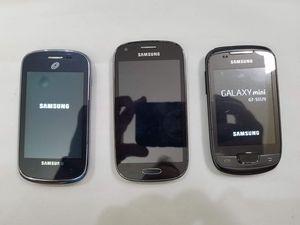 Lot of 3 Samsung Galaxy phones for Sale in Murrieta, CA