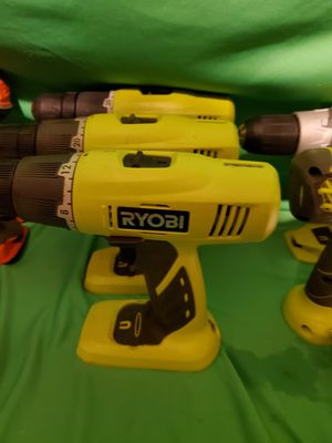 RYOBI CORDLESS 18V 2 SPEED DRILL TOOL ONLY NEW for Sale in Beaumont, CA
