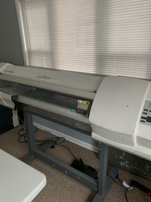 Roland Sp300 versaCamm ecosolvent printer for t-shirt banner signs decals for Sale in Cleveland, OH