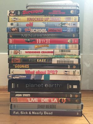 Lot of DVDS for Sale in Portland, OR