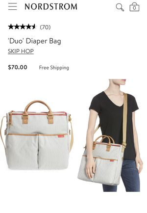 Skip hop diaper bag used for Sale in Stamford, CT