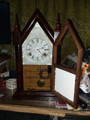 Antique Waterbury Steeple Clock circa 1860's for Sale in Phoenix, AZ
