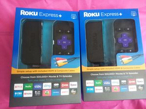 Roku Express Plus for Sale in Anderson, SC