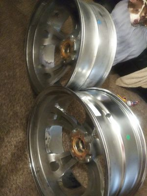 22/9 chrome Rims must pick up have only 2 for Sale in Fresno, CA